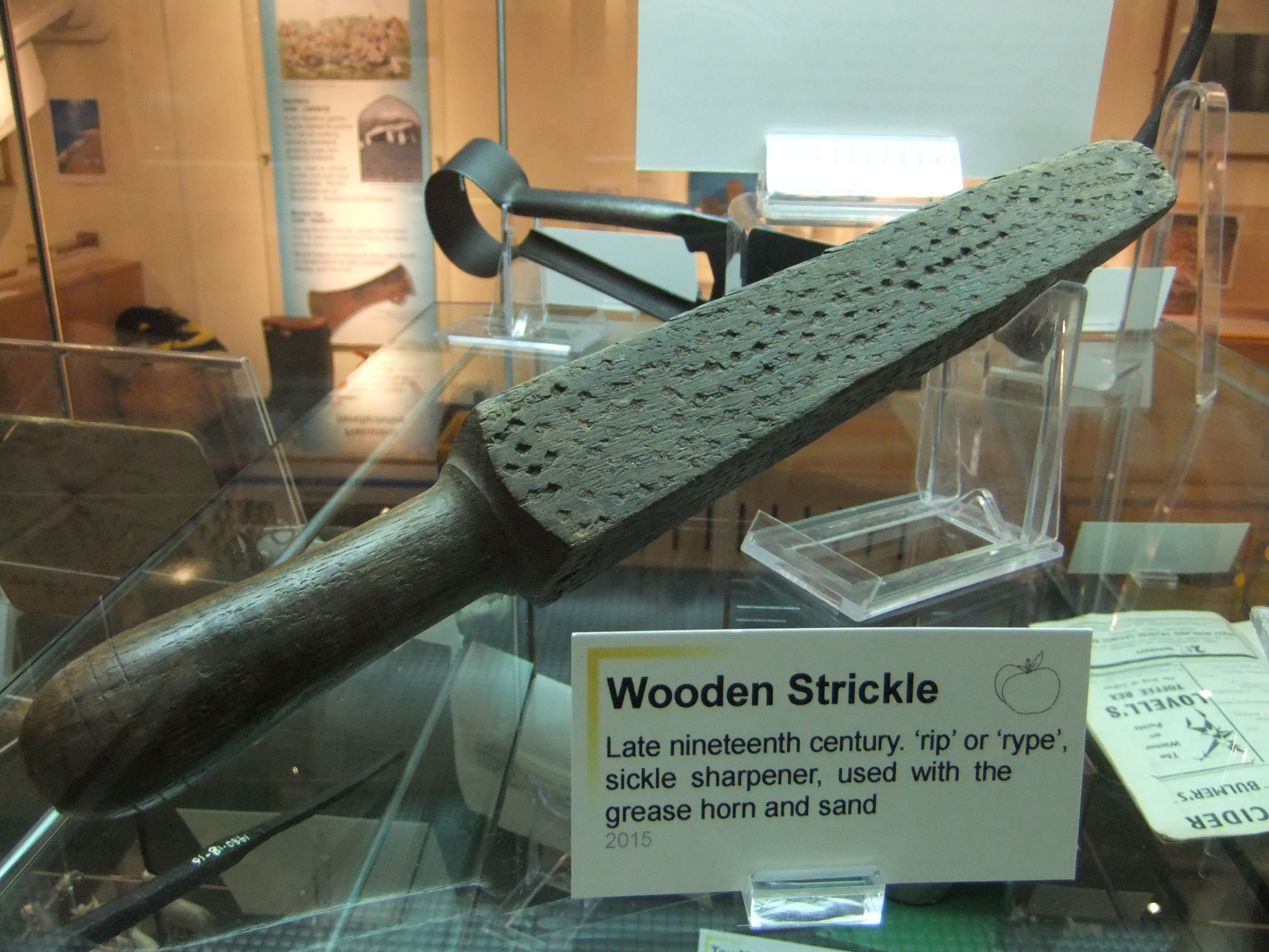 Wooden strickle